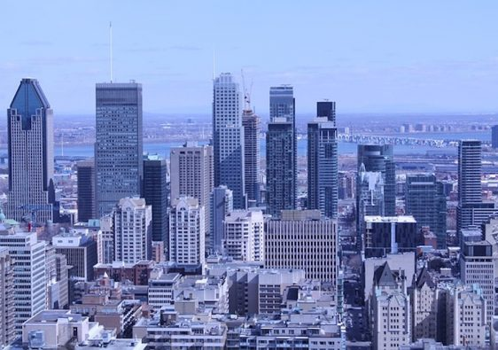 La ville de Montreal au Canada
